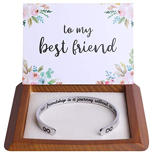 Hidden Message Bracelet -Great Friend Gift