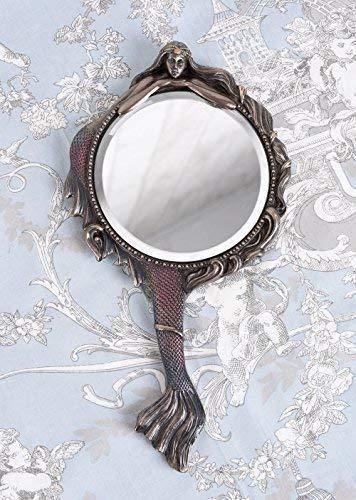 Handspiegel Jugendstil Meerjungfrau Spiegel Taschenspiegel Vintage Palazzo Exklusiv