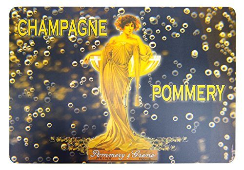 Cartexpo 40610 Alimentation Set de Table Champagne Pommery