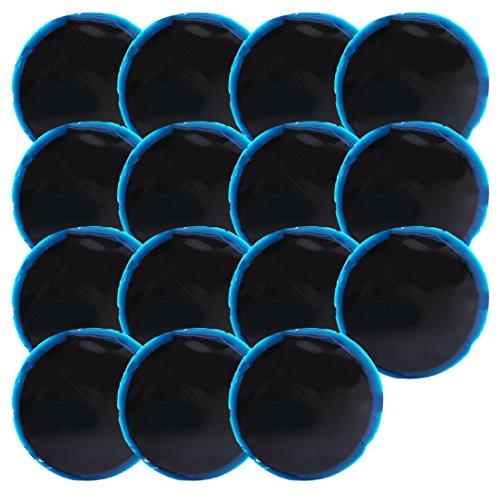 beler 15pcs Voiture en Caoutchouc Radial Pneu réparation Ronde Assortiment Outil de Patch Large 70 mm