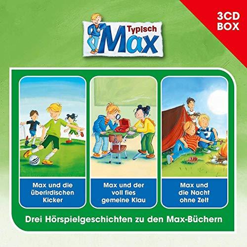Max 3-CD Hörspielbox Vol. 2