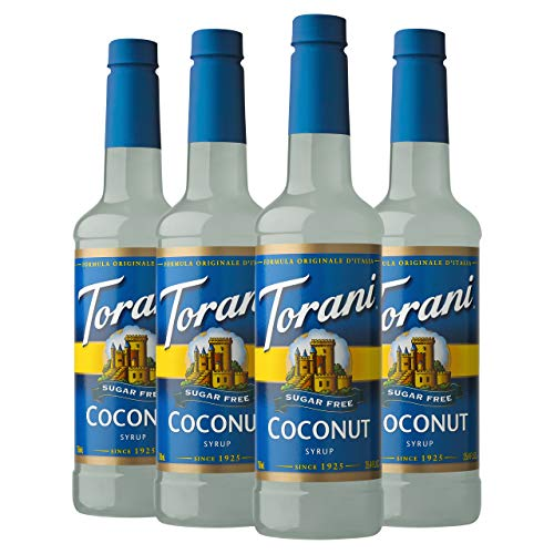 4-Pack 25.4-Oz Torani Sugar Free Syrup (Coconut) $8.12 ($2.03 per bottle) w/ S&S + free shipping w/ Prime or on orders over $25