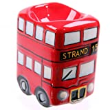 Eierbecher London Bus Routemaster Doppeldecker