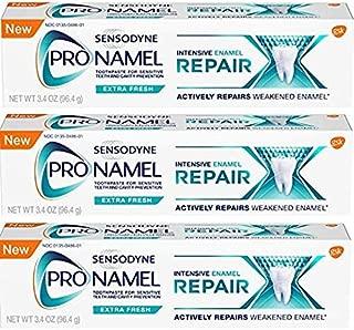 Sensodyne ProNamel, Extra Fresh, Intensive Repair 3.4 Ounce (Pack of 3)
