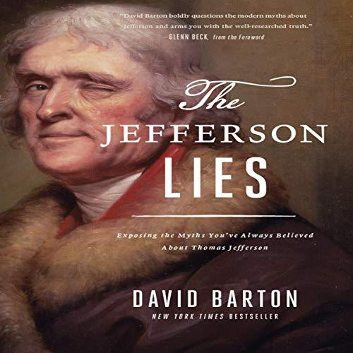 The Jefferson Lies audiobook cover art