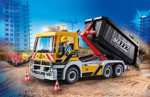 PLAYMOBIL City Action 70444 Camión Construcción, A Partir de 5 Años