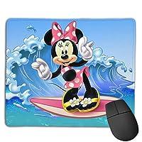 マウスパッド ミッキーミニー 防水 洗える 耐久性 滑り止め オフィス 高級感 おしゃれ かわいい 18x 22x 0.3cm