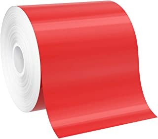 "SafetyPro 4""x150` Red Premium Vinyl Labeling Tape, for SafetyPro, Duralabel 4TTP, Duralabel Pro, VnM, and Select LabelTac ..."