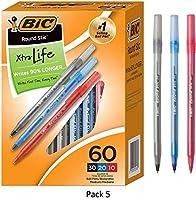 BIC ボールペン 5本パック