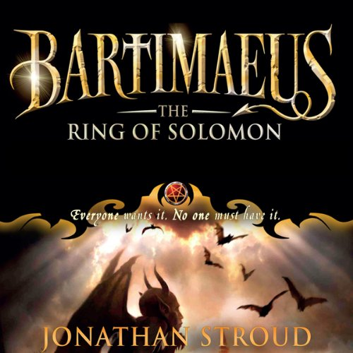 The Ring of Solomon audiobook cover art