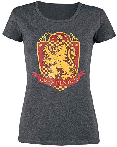 HARRY POTTER Gryffindor Quidditch Mujer Pijama Gris/Rojo/Amarillo XXL