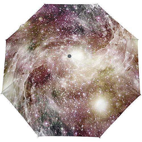 Sternennebel Sterne Galaxy Universe Auto Öffnen Schließen Sonne Regen Regenschirm
