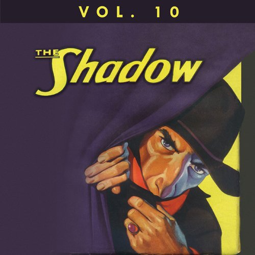 The Shadow Vol. 10 cover art