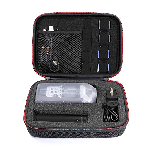 Custodia Per Registratore Portatile Con Inserto In Schiuma Fai Da Te Per ZOOM H1 H2N H5 H4N H6 F8 Q8, Pratico Registratore Di Musica Caricabatterie Accessori Per Treppiede Per Microfono Contenitore