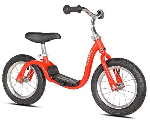 Kazam Kanam Neo Bicicleta de Equilibrio sin Pedales, Niños, Rojo, 30,48 cm (12 Pulgadas)
