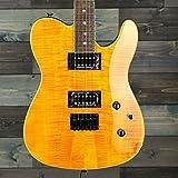 Fender Special Edition Custom Telecaster FMT HH - Laurel Fingerboard - Amber