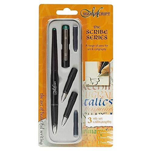 Manuscript Left Handed Nib Scribe Calligraphy Pen and Nib Set
