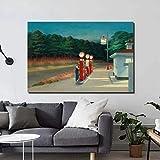 Modulare Wandkunst Edward Hopper Leinwandbilder Idealismus