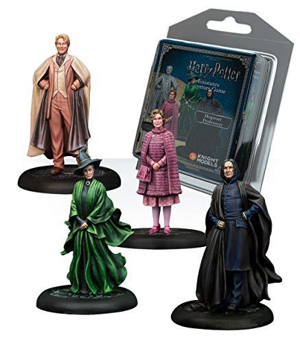 Knight Models Juego de Mesa - Miniaturas Resina Harry Potter Muñecos Hogwarts Professors Expansion Pack versión inglesa