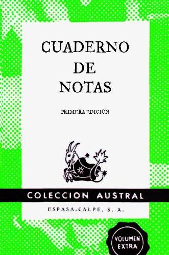 Cuaderno de notas verde 9x14cm (AUSTRAL EDICIONES ESPECIALES)