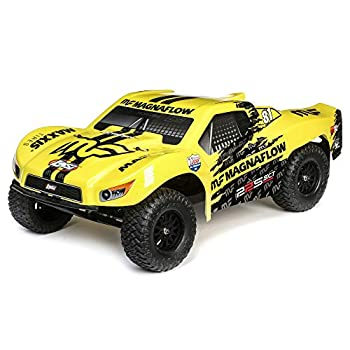 Losi RC Truck SCT Brushed RTR Ready-to- Run Yellow LOS03022T1
