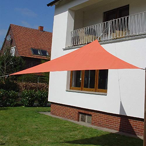 Dekowelten Terrassen Sonnensegel dreieck der ExtraKlasse 3,00m Terra wasserdichtRegenschutz Windschutz