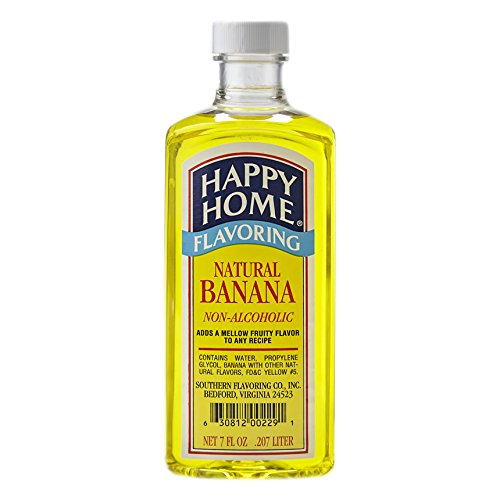 Happy Home Flavoring Natural Banana 7 Fl. Oz.