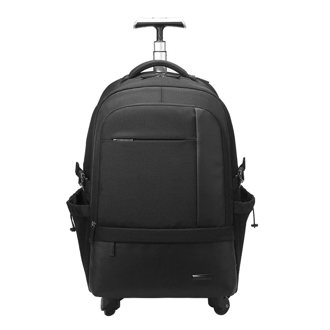 チップ全く八クロース(Kroeus)キャリーバッグ ソフト 3way 手提げ 機内持込 トロリーバッグ 人気 軽量 大容量 スーツケース 4輪キャスター リュック 旅行 出張 撥水加工