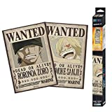 ABYstyle - One Piece - Set 2 Chibi Posters - Wanted Zoro &