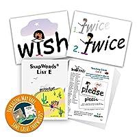 [Child1st SnapWords]Child1st SnapWords SnapWords List E Teaching Sight Word Cards SWE1 [並行輸入品]