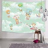 2183 Tapices de bola para montar en la pared, divertidos tapices para el hogar, para cama o sala de dibujo, 130 x 130 cm