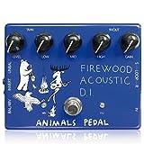 Animals Pedal (アニマルズペダル) Firewood Acoustic D.I. / 3種類のEQ (High、Mid、Low)、エフェクトループを搭載したアコースティックギター用DI