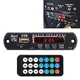 BANANAJOY Banco de PCB de, Coche 12V Jugador Audio MP3 Decoder Junta de Radio de FM TF USB 3.5 mm AUX, sin Bluetooth y la grabación Duradero
