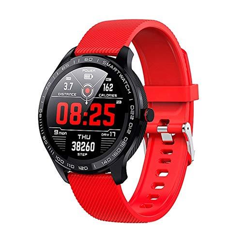 L9 Smart Watch, Maschio E Femmina ECG + PPG Frequenza Cardiaca Pressione Sanguigna Ossimetro IP68 Bluetooth Impermeabile Smart Watch PK L5 L6 L7,B