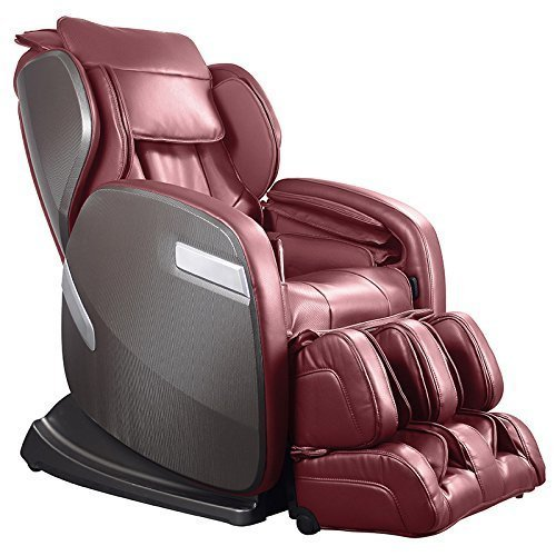 Ogawa Active SuperTrac Massage Chair with Advanced Roller Technology, Cherry