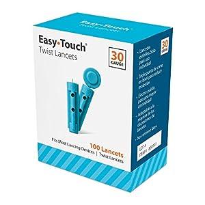 buy  EasyTouch Twist Lancets – 30 G, (100 per ... Diabetes Care