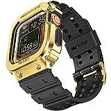 amBand Sport Militaire Bracelet Compatible avec Apple Watch 44mm, Bracelet de Remplacement avec...