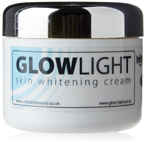 Glowlight Made in UK Skin Whitening & Lightening Cream Lotion for Age Dark Spots, Acne Scars, Scars, Stretchmarks & All Round Brighter Radient Skin 50g (Choose Quantity) (1 Tub x 50g)