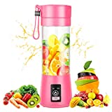 Portable Blender,Personal Blender with USB Rechargeable Mini Fruit Juice Mixer,Personal Size Blender...