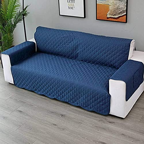 BANNAB Fundas de sofá, para Mascotas Protector de Muebles de Primera Calidad Funda de Dos plazas Funda para sofá de Amor Fundas de sofá con Respaldo Antideslizante Microfibra Soft-G-130x196cm