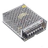 Lixada Alimentatore Stabilizzato per striscia bobina a LED switch trimmer AC 100V?240V DC 24V 5A 120W