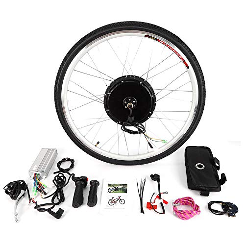 OUKANING Kit de conversión de Motores eléctricos para Bicicleta 36V 800W 28'' E-Bike Kit de conversión para la Rueda Traser