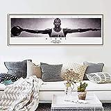 Modern Baskerball Sprots NBA Super Star Palyer Kobe Bryant Michael Jordan Wings Wall Art Poster Tela Pittura Soggiorno Camera Da Letto Fan Club Home Decor