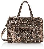 PIECES Pccollina Leather Bag - Borse a spalla Donna, Multicolore (Beige), 11,5x37x25 cm (B x H T)