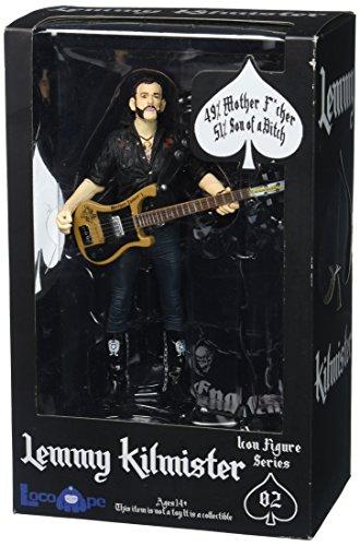 Motorhead Figur von Lemmy Kilmeister mit Rickenbacker Gitarre.