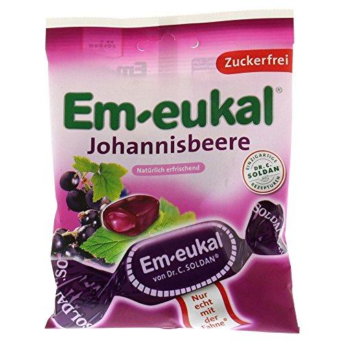 EM Eukal Bonbons Johannisbeere Gefüllt Zuckerfei