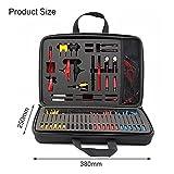 MOTINGDI 90pcs circuito cable probador auto prueba diagnóstico reparación herramienta kit
