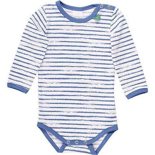 Fred'S World By Green Cotton Ocean Stripe Body, Multicolore (Blue 019403901), 74 Bébé garçon