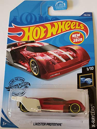 Hot Wheels 2020 X-Raycers Lindster Prototype, Red 136/250 Montana