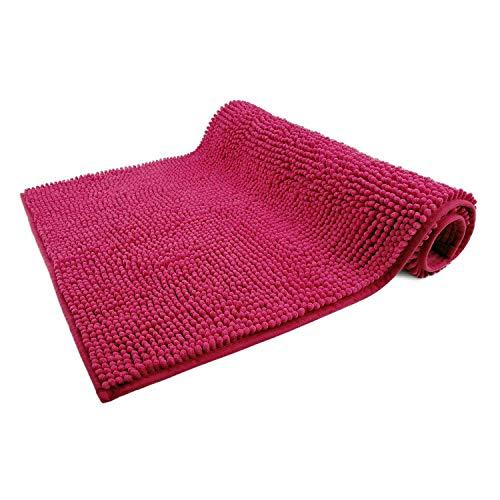 WohnDirect Tapis de Bain Pink • Sets modulables • Antidérapant, Absorbant et Doux• 50x80cm